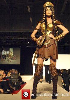 Picture - Chocolate Fashion Xena Warrior Princess by Joelle Mahoney New York City, USA, Thursday 6th November 2008 | Photo 784373 | Contactmusic.com