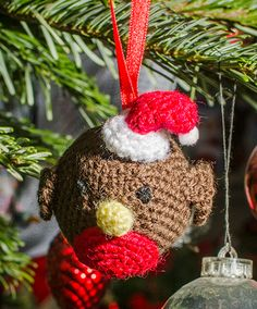 Robin Christmas decoration