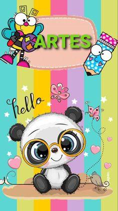 Cute Panda, Sailor Moon, Coloring Books, Art Projects, Banner, Family Guy, Clip Art, Kawaii, Lettering