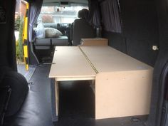 Show us your custom made bed layouts - Page 2 - VW T4 Forum - VW T5 Forum