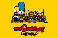 The Simpsons x BAPE Baby Milo Collection @2014 , super cute,