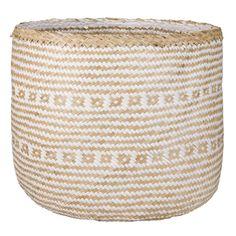 basket raffia white nature geflochtener bastkorb in wei 223 natur m deko
