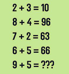 Which number replace the question mark?