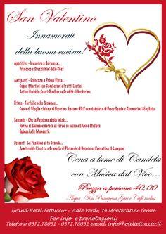 San Valentino 2014 con noi!