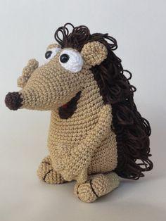 Quilliam der Igel  Amigurumi Häkeln Muster von IlDikko auf Etsy, $5.20, crochet pattern hedgehog