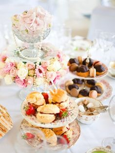 Create an elegant tea party by setting the tone with beautiful invitations, create a sophisticated atmosphere with stylish decorations and plan for fancy teas and an elegant menu. Decide on a color scheme to incorporate throughout the party to get the ball rolling on the planning.