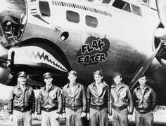 "B-17G Nose Art ""Flak Eater"" 305th BG, 364th BS"