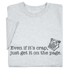 Get it on the page!