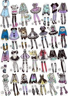 Cute doll outfits