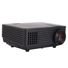 LED ProjectorIvishow Mini Multimedia Portable Video Projector Game Home Cinema Theater Movie ProjectorWarranty IncludedBlack 805 >>> Find out more about the great product at the image link.
