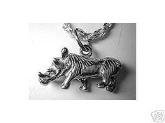 1451 warthog pendant 3d charm jewelry sterling silver Real Sterling silver 925 pendant Charm jewelryLike this item find it at https://www.etsy.com/shop/princeofdiamonds