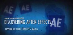 After Effects Bootcamp -