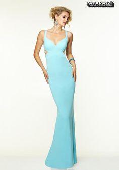 Mori Lee Two Straps Prom Dress 97083
