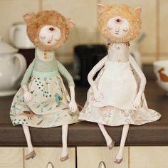 Claymate Creatures Creates Beautifully Fantastical Dolls