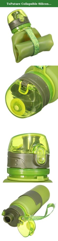 ToFuture Collapsible Silicone Leak Proof Sports Water Bottle Bag Clip Foldable Camping 500ml Canteen Folding Hydration Cup BPA Free for Cycling, Hiking, Travelling,Fitness and Outdoor Activities Green. ToFuture is a professional Sports& Outdoor product supplier, focusing on supplying all kinds of quality, stylish and attractive items to help improve customers' high-quality life. We devote ourselves to improving customers' on-line shopping experience. Features: •Quality health…