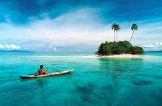 Покататься на байдарках у Соломоновых островов