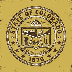 Seal of Colorado | Cast Iron Design Company