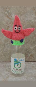 Patrick Star (Best friend of Spongebob Squarepants! Knitting Designs, Knitting Patterns Free, Knit Patterns, Knitting Projects, Free Pattern, Crochet Kids Hats, Knit Or Crochet, Crochet Toys, Knitted Hats