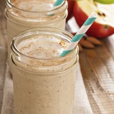 Fall Cinnamon Apple Blast 1 handful Spinach 1 Apple 1 tsp. Cinnamon 1 tsp. Vanilla ½ tsp. Nutmeg 1 handful Almonds 1 tbsp. SuperFood Protein Boost ½ cup Almond Milk Coconut Water to MAX LINE With sweet apple and warming spices, this Blast not only tastes great, it's also good for you!  Cinnamon has been shown to help maintain blood sugar levels and nutmeg is also great for the immune system. It also helps get you to sleep, so try this Blast just a few hours before bedtime for a delicious…