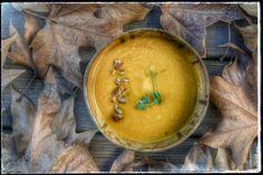 מרק גזר מושלם: מרק של גזרים מזוגגים במייפל וערמונים - מה יש לאכול