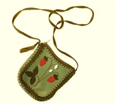 Small Purse Genuine Leather Purse Girl purse  by GrandmasDowry, $34.00