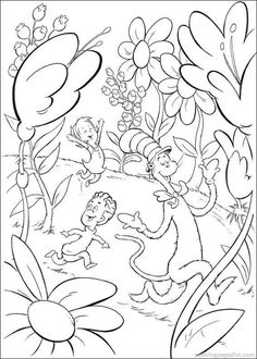 """Dr Seuss Coloring Page Free - Geisel adopted the name """"Dr. Seuss """" As a graduate of Dartmouth College and a graduate student at Oxford University. It left Oxford in 1927 to start i. Dr Seuss Coloring Pages, Cat Coloring Page, Coloring Pages To Print, Free Printable Coloring Pages, Coloring Book Pages, Coloring Pages For Kids, Coloring Sheets, Boy Coloring, Alphabet Coloring"""