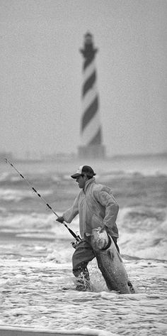 Now that's beach fishing