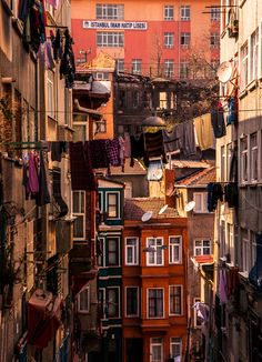 #Istanbul  I remember walking around the narrow streets amazed at all the wires crossing bldg to bldg