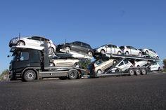 10 cars under blue sky