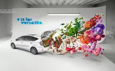 Colourful and eye-catching advertising by Serial Cut.