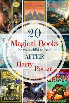 20 Magical Books For Your Child To Read: After Harry Potter ~ Nourishing My Scholar Read Aloud Books, Ya Books, Library Books, Good Books, Book Suggestions, Book Recommendations, Kids Reading, Reading Books, Books For Teens