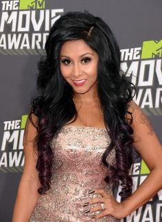 MTV Movie Awards 2013: Snooki Sparkles On The Red Carpet