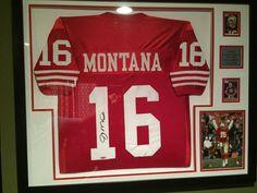 #JoeMontana #49ers #FramedJersey #JerseyFraming