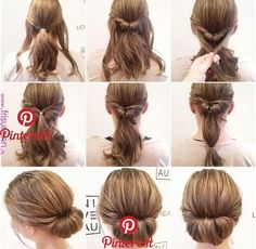 Simply beautiful hair for long hair «Beauty 2019 - Lange Haare Zopf Interview Hairstyles, Pretty Hairstyles, Braided Hairstyles, Hairstyle Ideas, Nurse Hairstyles, Halloween Hairstyles, Hairstyle Short, Natural Hairstyles, Medium Hair Styles