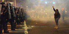 Segunda noche de disturbios en Carolina del Norte...