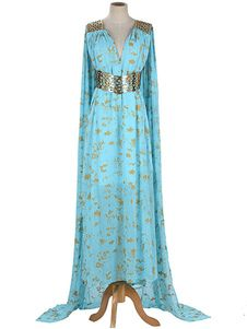Shop a great selection of 550 - Game Thrones Daenerys Targaryen Cosplay Blue Qarth Party Dress. Find new offer and Similar products for 550 - Game Thrones Daenerys Targaryen Cosplay Blue Qarth Party Dress. Cosplay Daenerys Targaryen, Khaleesi Costume, Game Of Thrones Khaleesi, Game Of Throne Daenerys, Game Thrones, Daenarys Targaryen, Costumes Game Of Thrones, Game Of Thrones Cosplay, Cosplay Dress