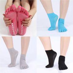 Art Design One Size Massage Rubber Fitness Yoga Socks Gym Dance Sport Non-slip | eBay