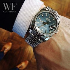 There's no such thing as casual Friday with this #Rolex #Datejust 116234!