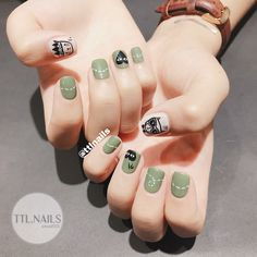 Love Nails, How To Do Nails, Fun Nails, Pretty Nails, Nail Polish Style, Korean Nail Art, Broken Nails, Valentine Nail Art, Pedicure Nail Art