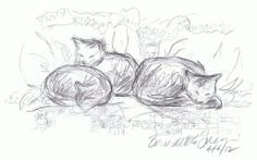 Daily Sketch: Peaceful Nap