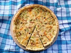 Leek tart. Tarta cu praz. Leek Tart, Quiche, Breakfast, Food, Pie, Morning Coffee, Essen, Quiches, Meals