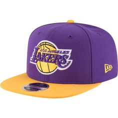 13945de3cb1 New Era Men s Los Angeles Lakers 9Fifty Adjustable Snapback Hat