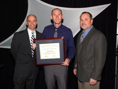 In celebration of our 25th anniversary, every Thursday we post a picture for Throw Back Thursday. #tbt  Route Salesman, Simon Cox, being awarded the Route Salesperson of the Year from the International Bottled Water Association in 2012. #TheWaterGuy