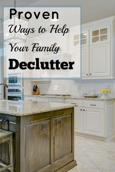 If you are serious about helping your family declutter and finally get organized then you MUST read this! Great article, I may actually become clutter free! Read this now and make sure to pin it!