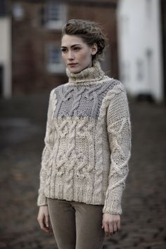 Rowan Knitting and Crochet Magazine 52 (love the color, trade for a crewneck?)