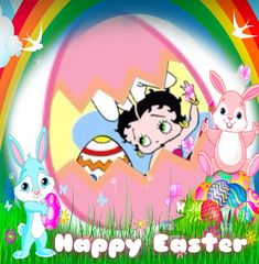 Betty Boop Easter Photo: This Photo was uploaded by kpilkerton. Find other Betty Boop Easter pictures and photos or upload your own with Photobucket fre.