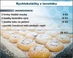 Levně a chutně s Ladislavem Hruškou - Rychlokoláčky z taveňáku