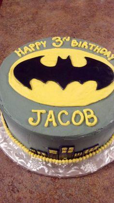 Cakes: Batman Birthday Cake