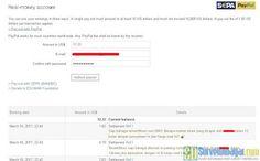 Memilih pembayaran Online Survey Prediki melalui transfer PayPal   SurveiDibayar.com