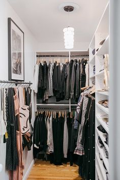 finally, a grown up closet.